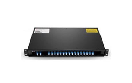 16 Channels C21-C36 Dual Fiber DWDM Mux Demux with Expansion Port, 1U Rack Mount, LCUPC