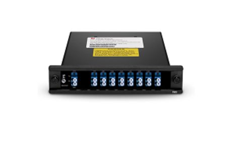 8 Channels C44-C58 Single Fiber DWDM Mux Demux, Plug-in Module, LCUPC