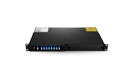 8 Channels C53-C60 Dual Fiber DWDM Mux Demux, 2-slot 1U Rack Mount, LCUPC