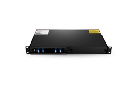 1 Channel C21 Single Fiber DWDM OADM East-and-West, 2-slot 1U Rack Mount, LCUPC