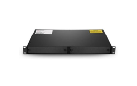 1RU Rack Mount Chassis Unloaded, Holds Up to 2 Units Plug-in Cassette