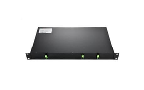 1X2 PLC Fiber Splitter, 1U 19 Rack Mount, SCAPC