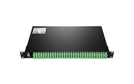 1X32 PLC Fiber Splitter, 1U 19 Rack Mount, SCAPC