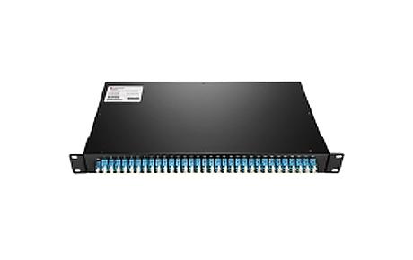 1X64 PLC Fiber Splitter, 1U 19 Rack Mount, LCUPC