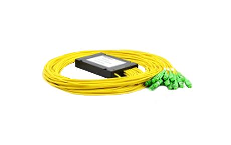 1x16 PLC Fiber Splitter, SplicePigtailed ABS Module, 3