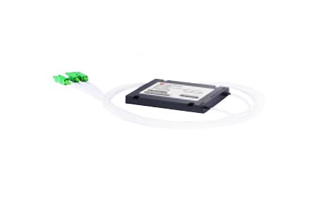 1x2 PLC Fiber Splitter, SplicePigtailed ABS Module, 900μm, SCAPC