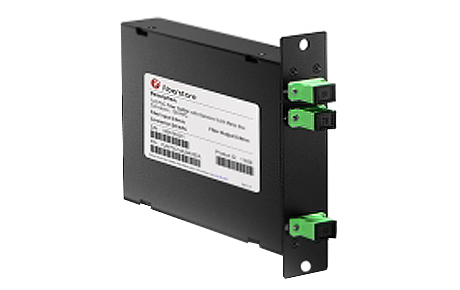 1x2 PLC Fiber Splitter, Standard LGX Cassette, SCAPC