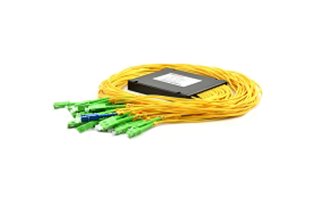 1x32 PLC Fiber Splitter, SplicePigtailed ABS Module, 2