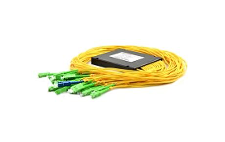 1x32 PLC Fiber Splitter, SplicePigtailed ABS Module, 3.0mm, SCAPC