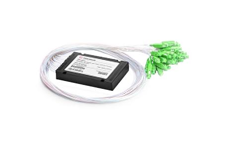 1x32 PLC Fiber Splitter, SplicePigtailed ABS Module, 900μm, SCAPC