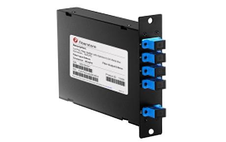 1x4 PLC Fiber Splitter, Standard LGX Cassette, SCUPC