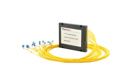 1x8 PLC Fiber Splitter, SplicePigtailed ABS Module, 2