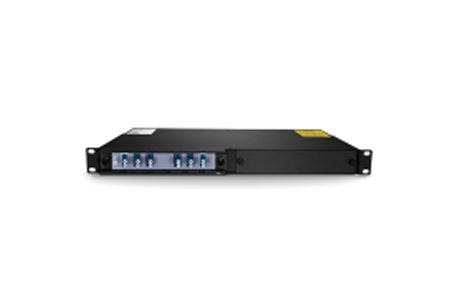 2 Channels 1470-1490nm Dual Fiber CWDM OADM, East and West, 2-slot 1U Rack Mount, LCUPC
