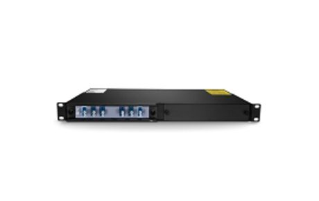 2 Channels 1470-1530nm Single Fiber CWDM OADM, East and West, 2-slot 1U Rack Mount, LCUPC