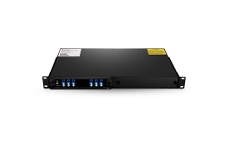 2 Channels C21-C22 Dual Fiber DWDM OADM, East and West, 2-slot 1U Rack Mount, LCUPC