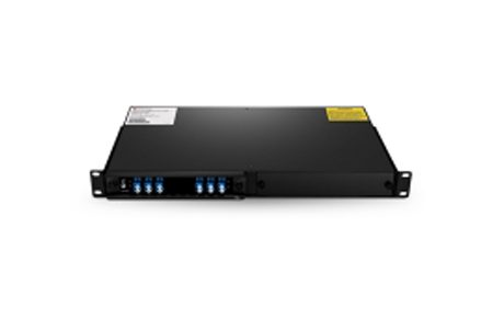 2 Channels C21-C24 Single Fiber DWDM OADM East-and-West, 2-slot 1U Rack Mount, LCUPC
