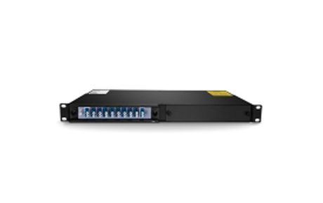 4 Channels 1470-1530nm Dual Fiber CWDM OADM, East and West, 2-slot 1U Rack Mount, LCUPC
