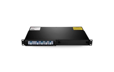 4 Channels 1490-1610nm Single Fiber CWDM Mux Demux with Expansion Port, 2-slot 1U Rack Mount, LCUPC