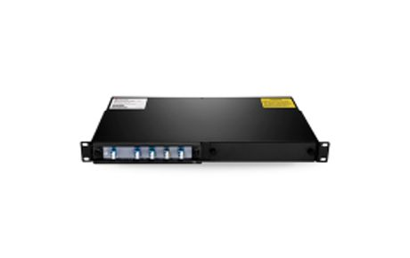 4 Channels 1490-1610nm Single Fiber CWDM Mux Demux,2-slot 1U Rack Mount, LCUPC