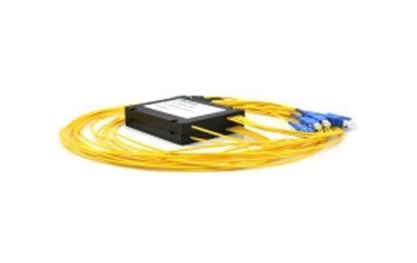 4 Channels 1510-1570nm Dual Fiber CWDM Mux Demux, SplicePigtailed ABS Module, LCUPC