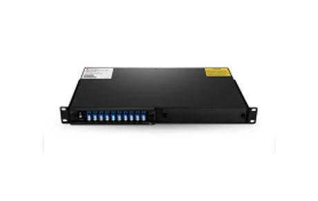 4 Channels C21-C24 Dual Fiber DWDM OADM, East and West, 2-slot 1U Rack Mount, LCUPC