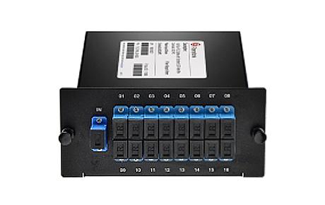 Custom12xN Fiber Splitter in FLG Series LGX Cassette, FCST, UPCAPC