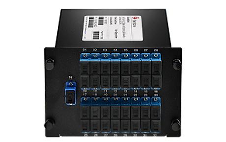 Custom12xN Fiber Splitter in FLG Series LGX Cassette, SCLC, UPCAPC