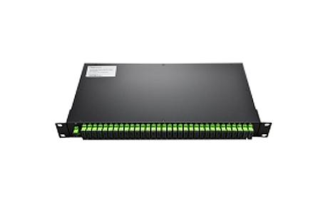Custom12xN Rack Mount Fiber Splitter, FCST, UPCAPC