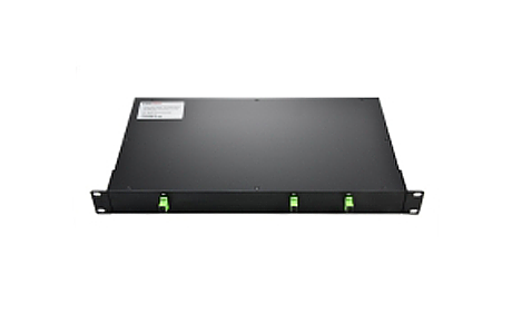 Custom12xN Rack Mount Fiber Splitter, SCLC, UPCAPC