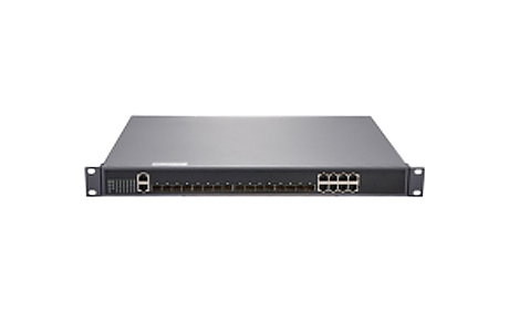 GPON OLT with 8 PON Ports, 1x 10100M Fast Ethernet Port and 8 Gigabit Combo Ports